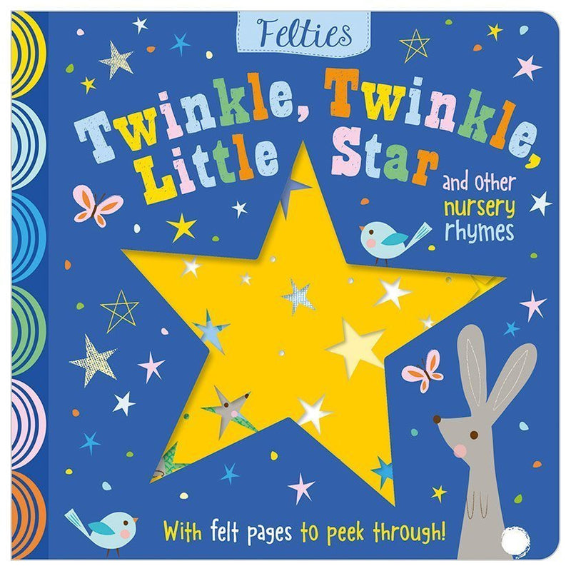 Board Book Felt Twinkle Star