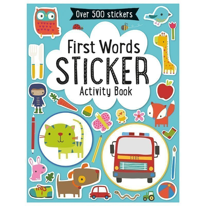 Book First Words Sticker Book