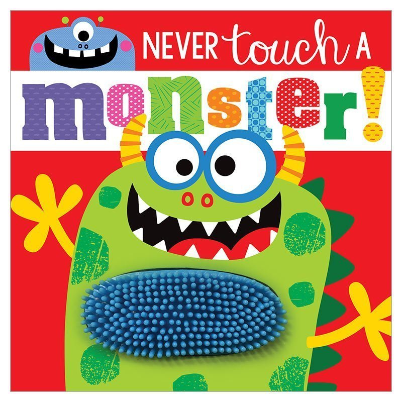 Board Book Never Touch A Monst
