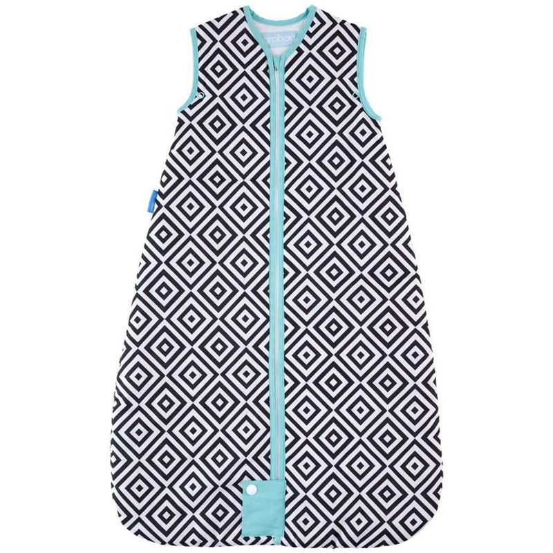 Gro Bag Baby Sleep Bag 2.5 Tog Travel - Jet Diamonds