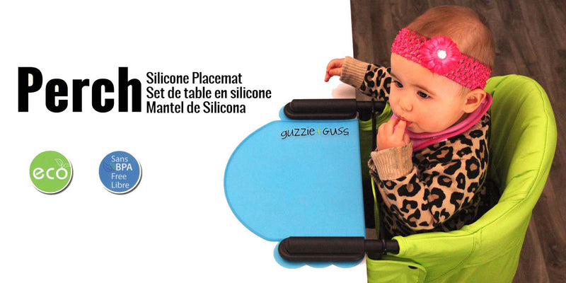 Guzzie Guss Perch Placemat Blu