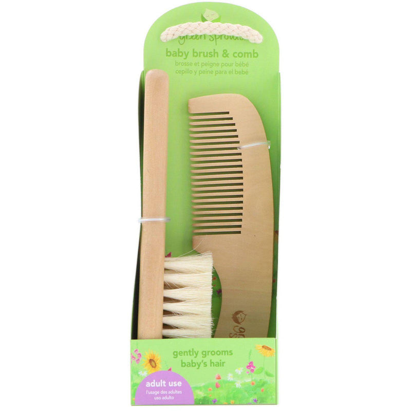 Green Sprouts Baby Brush & Comb Set
