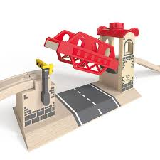 Hape Train Set Lifting Bridge