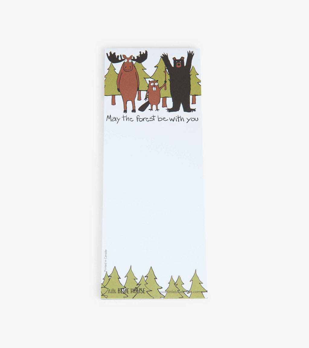 Hatley Magnetic List - May The Forest Be With You