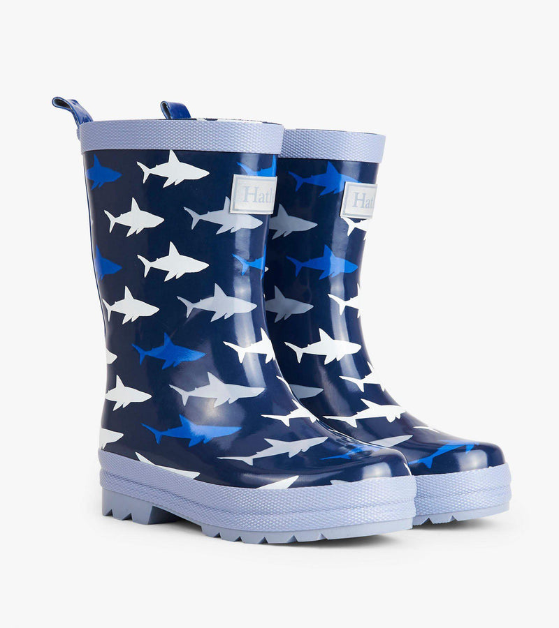 Hatley Rain Boot Sharks