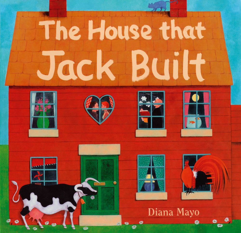 Board Book - House That Jack Built