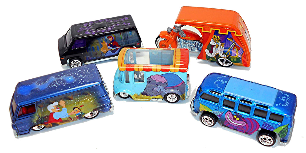 Hot Wheels Premium Pop Culture Series - Classic Disney