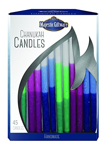 Chanukah Candles Hand - Pastel
