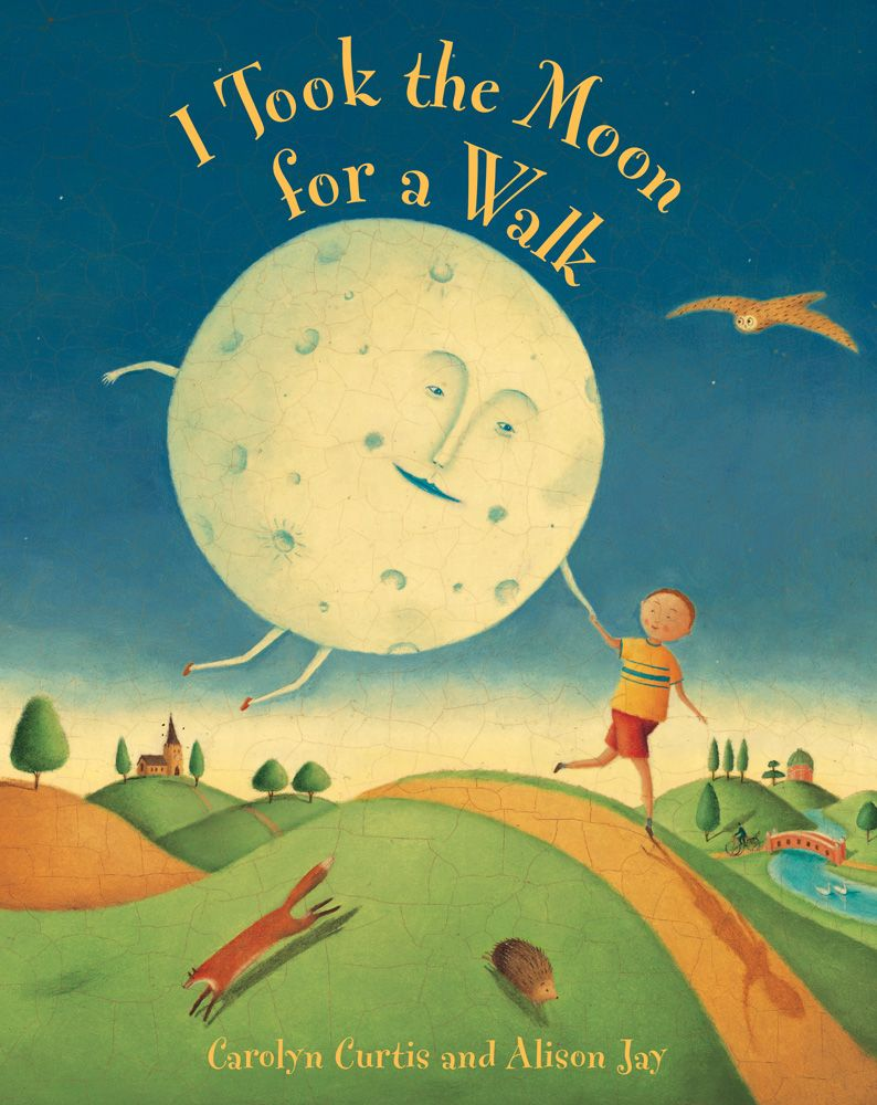 Board Book - I Took The Moon For A Walk