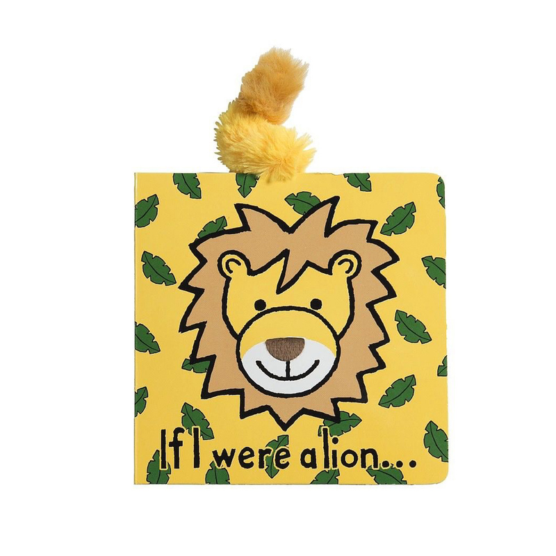 Jelly Cat Board Book - If I Were A Lion