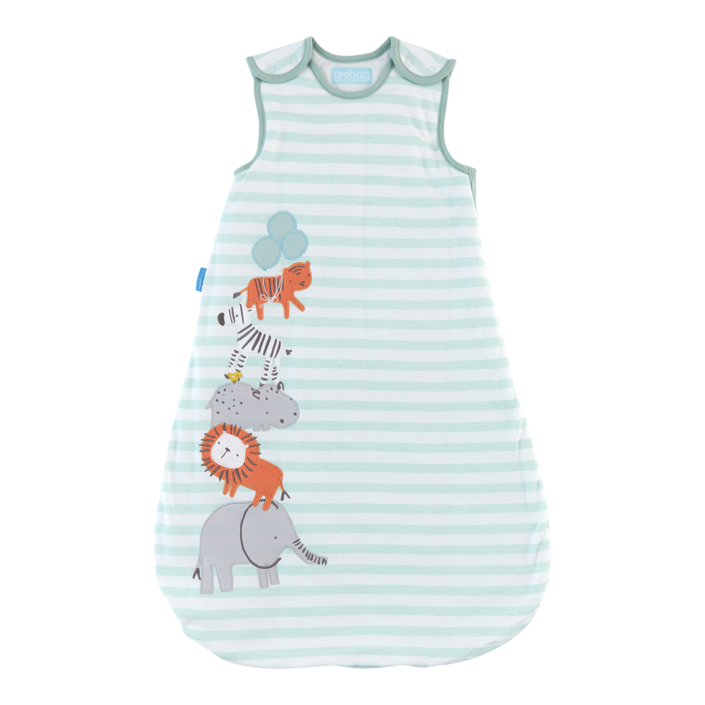 Gro Bag Baby Sleep Bag 2.5 Tog - Jungle Stack