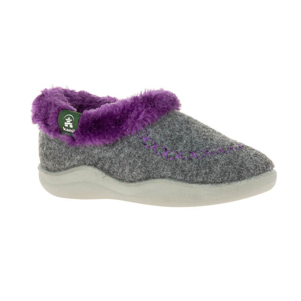 Slipper Cozy Cabin2 Lt.Grey