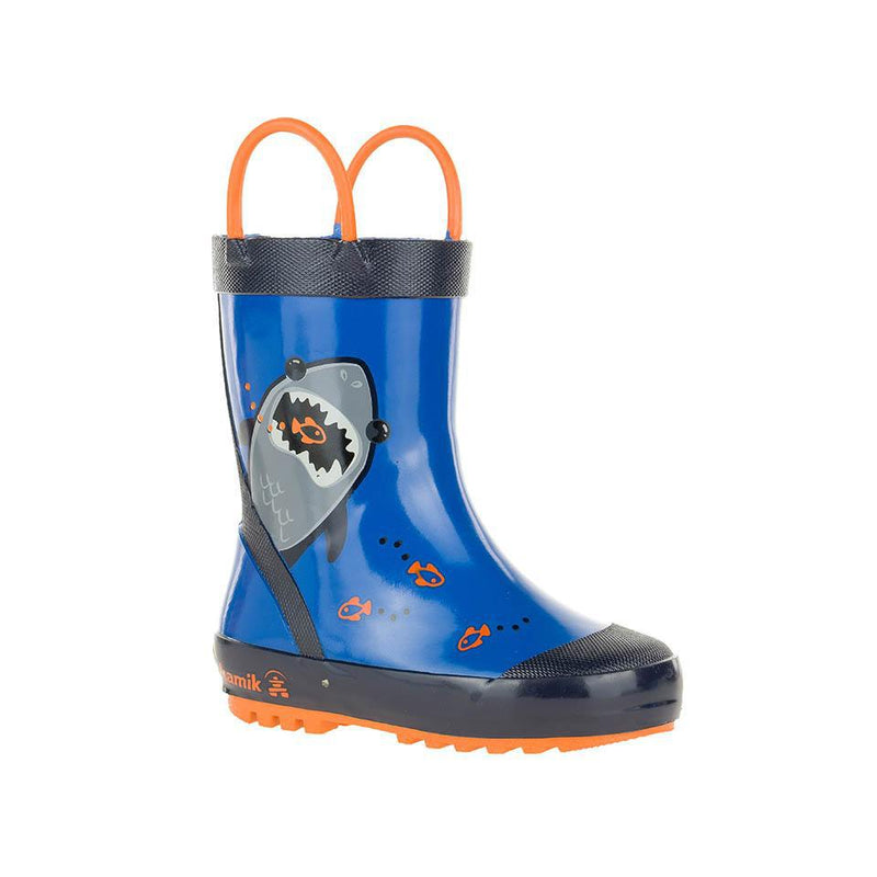 Rainboot Chomp Blue