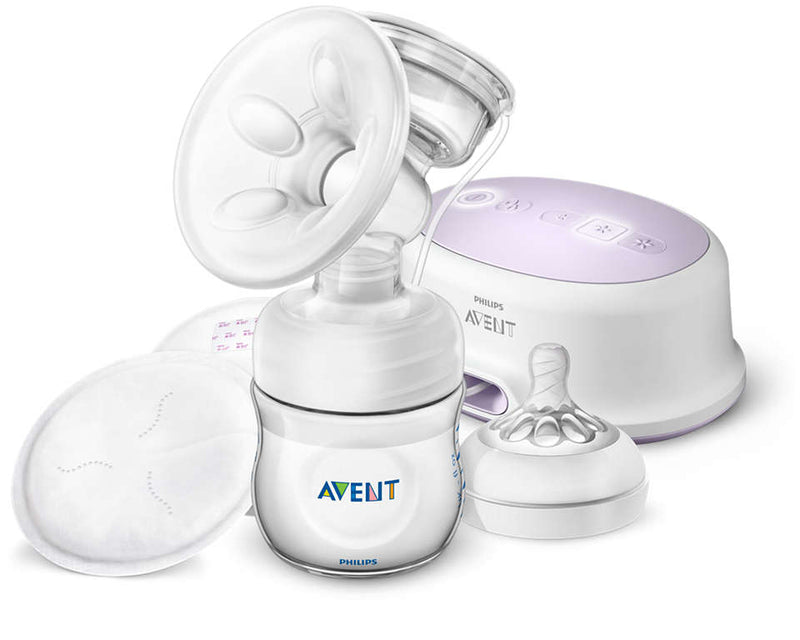 Avent Ele Breast Pump + Bottle