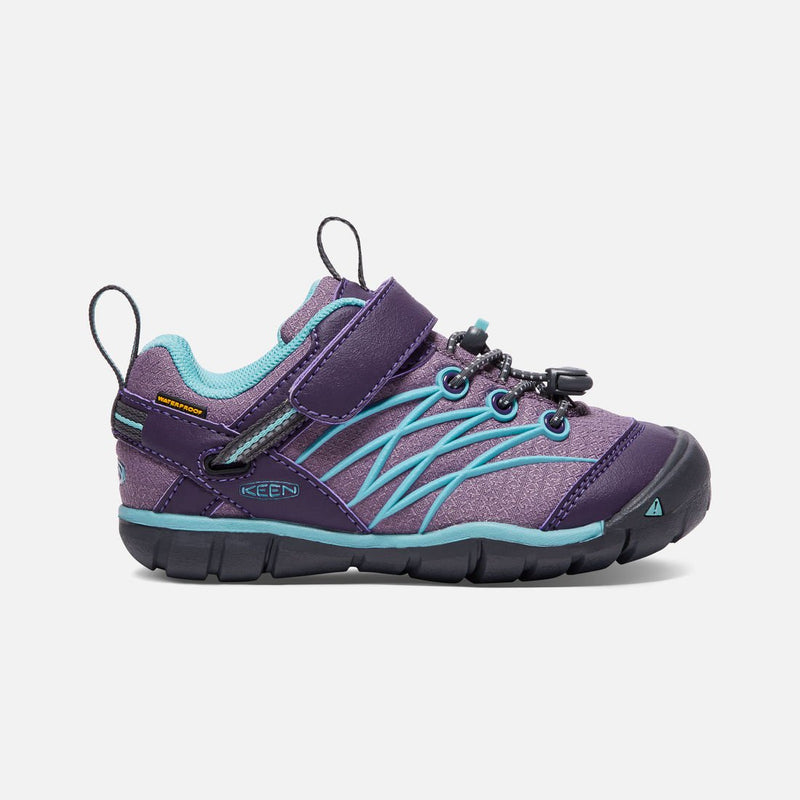 Keen Chandler Waterproof (Big Kid & Little Kid) - Montana Grape/Aqua Haze