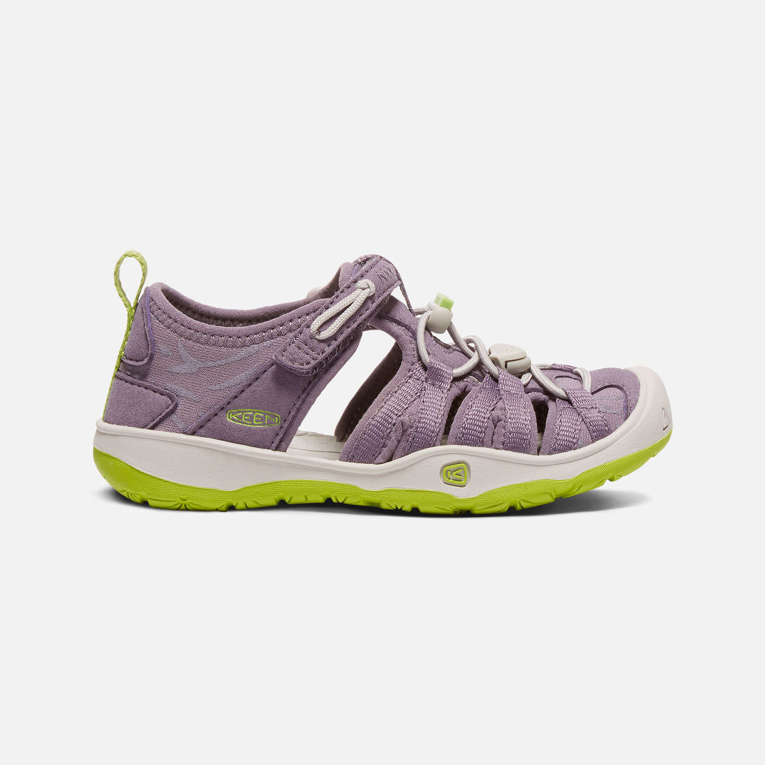 db278fc7c2be Keen Moxie Sandal (Big Kid   Little Kid) - Purple Sage   Greenery ...