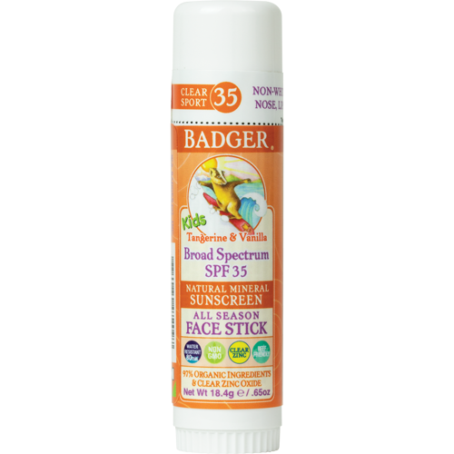 Badger Balm SPF 35 Kids Sunscreen Stick