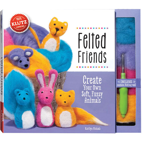 Klutz Felted Friends Felting Kit