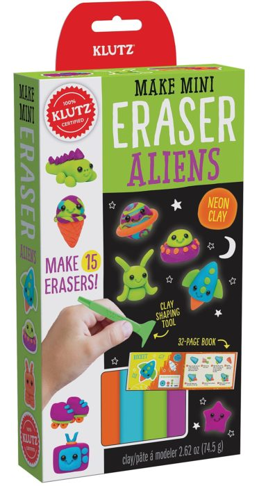 Klutz Make Mini Eraser Aliens