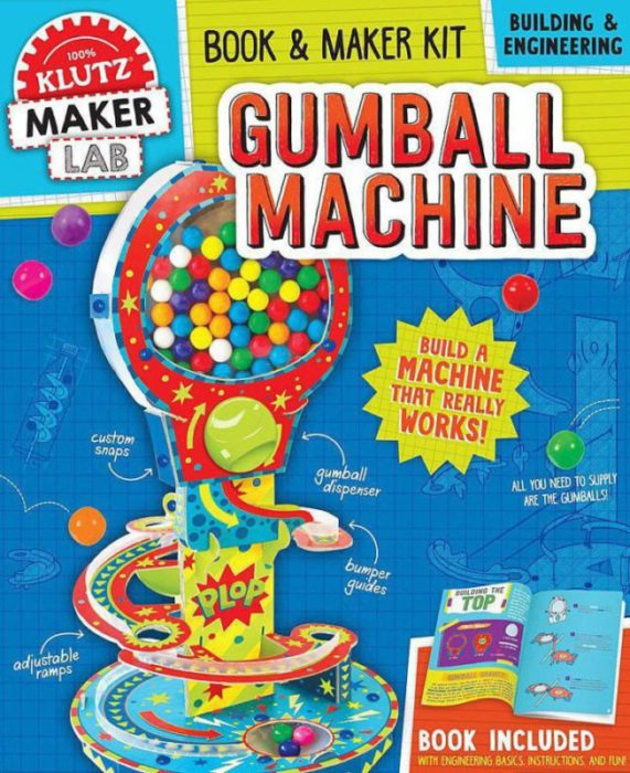 Klutz Maker Lab: Gumball Machine