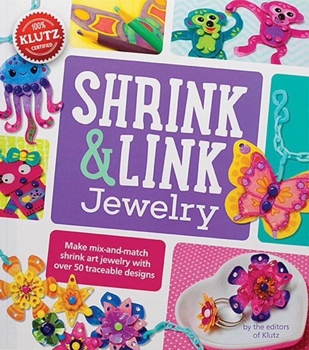Klutz Shrink and Link Jewelry Making Kit