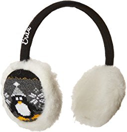 Earmuff Black Penguin
