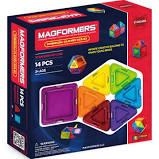 Magformers 14pc set - Solid