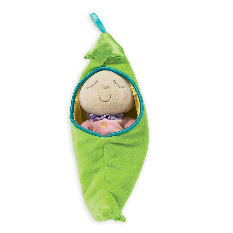 Manhattan Toys Plush Snuggle Pods - Sweet Pea