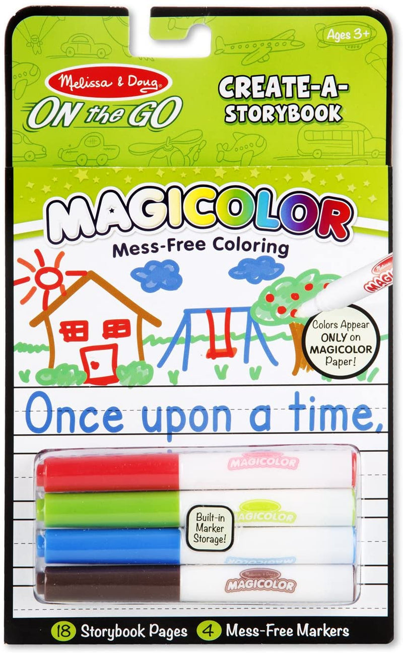 Melissa & Doug On The Go Magicolor Color-Your-Own Storybook