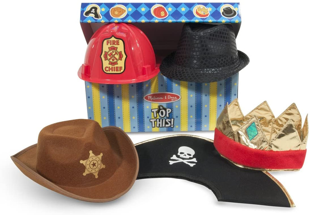 Melissa & Doug Top This! Costume Hat Set