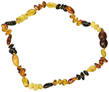 Amber Neckalce Oli/Bar Mix S