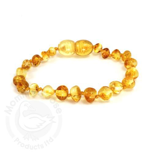 Amber Bracelet Adult Bar Lemon
