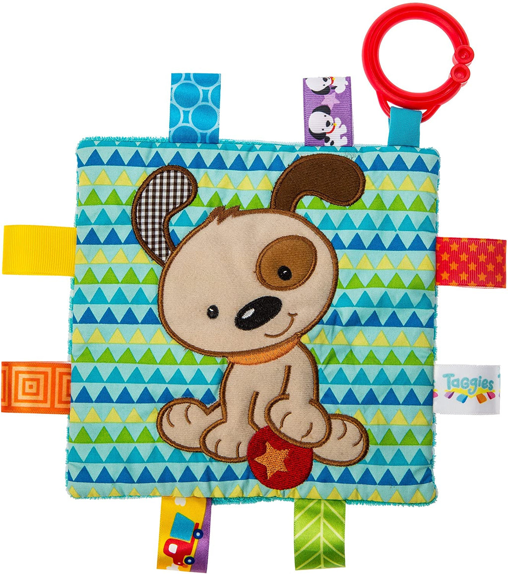 Mary Meyer Taggies CrinkleMe - Square Boy Puppy