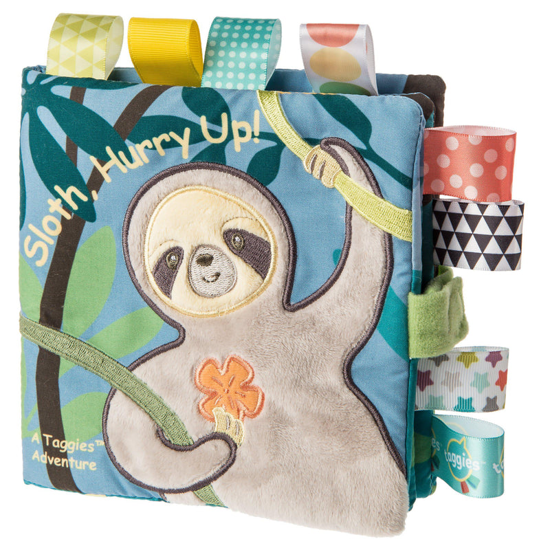 Mary Meyer Taggies SoftBook - Molasses Sloth