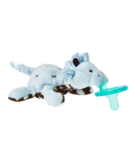 Mary Meyer Wubbanub Pacifier - Blue Giraffe