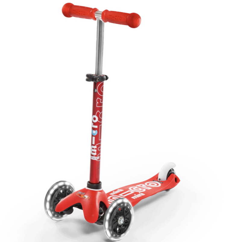 Micro Scooters Mini Micro Scooter DLX LED - Red