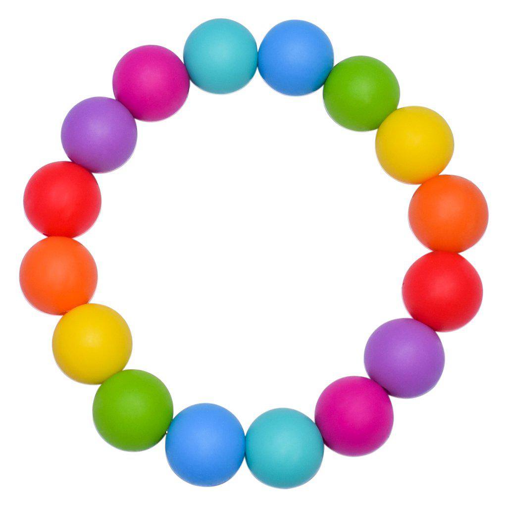 Munchables RBow Chew Bracelet