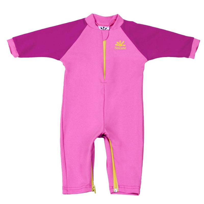 No Zone Fiji Sunsuit - Pink/Fuschia