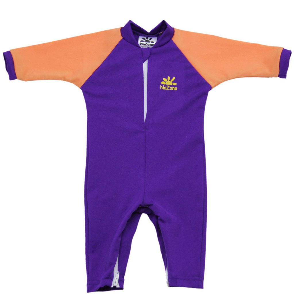 No Zone Fiji Sunsuit - Purple/Peach