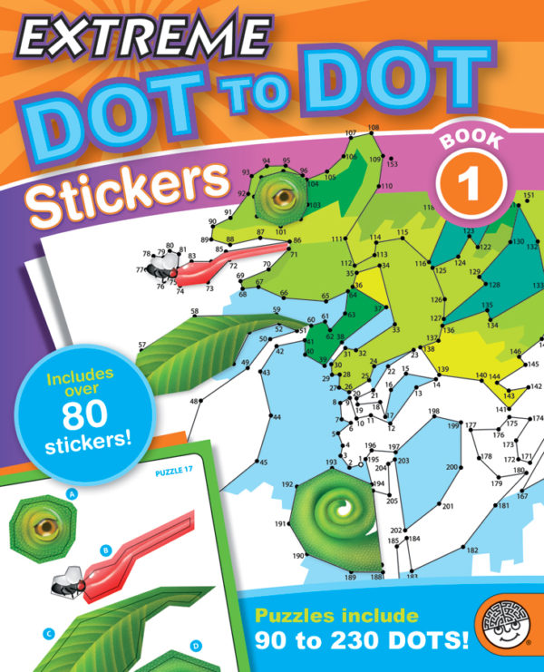 Extreme Dot to Dot Stickers