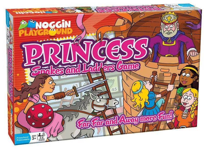 Princess Snakes N Ladders