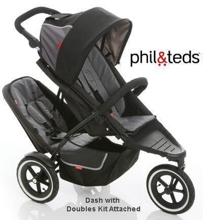 Phil & Ted Sport dbl/kit Red