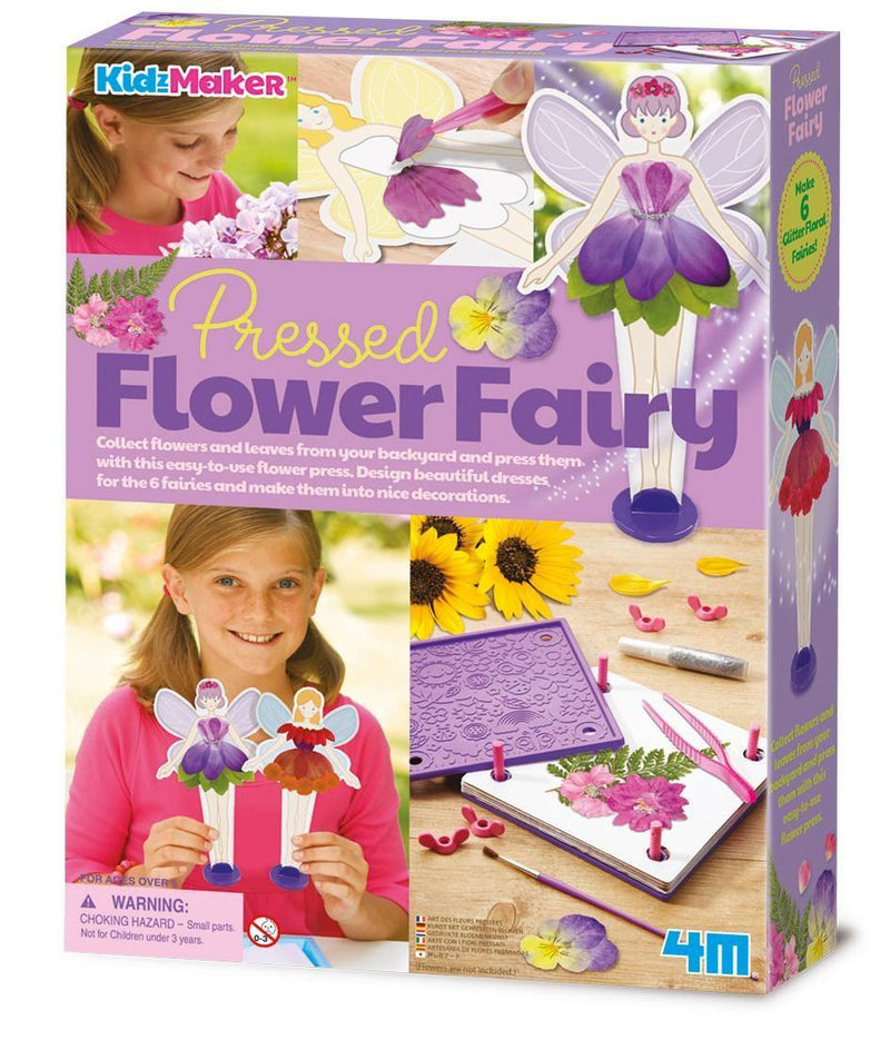 4M Kidzmaker - Pressed Flower Fairy Outfit Kit
