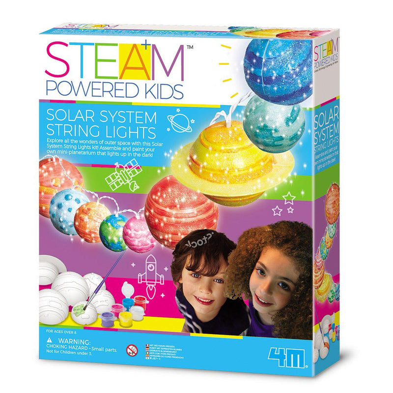4M STEAM Powered Kids - Light Up Solar System Kit