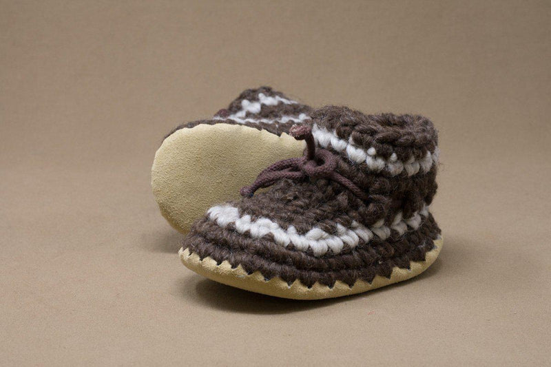 Bootie Child - Brown Strp
