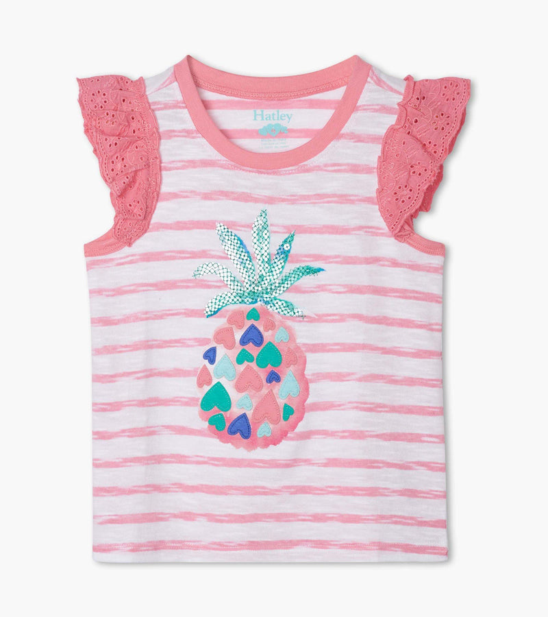 Hatley Tank Top - Pineapple Hearts