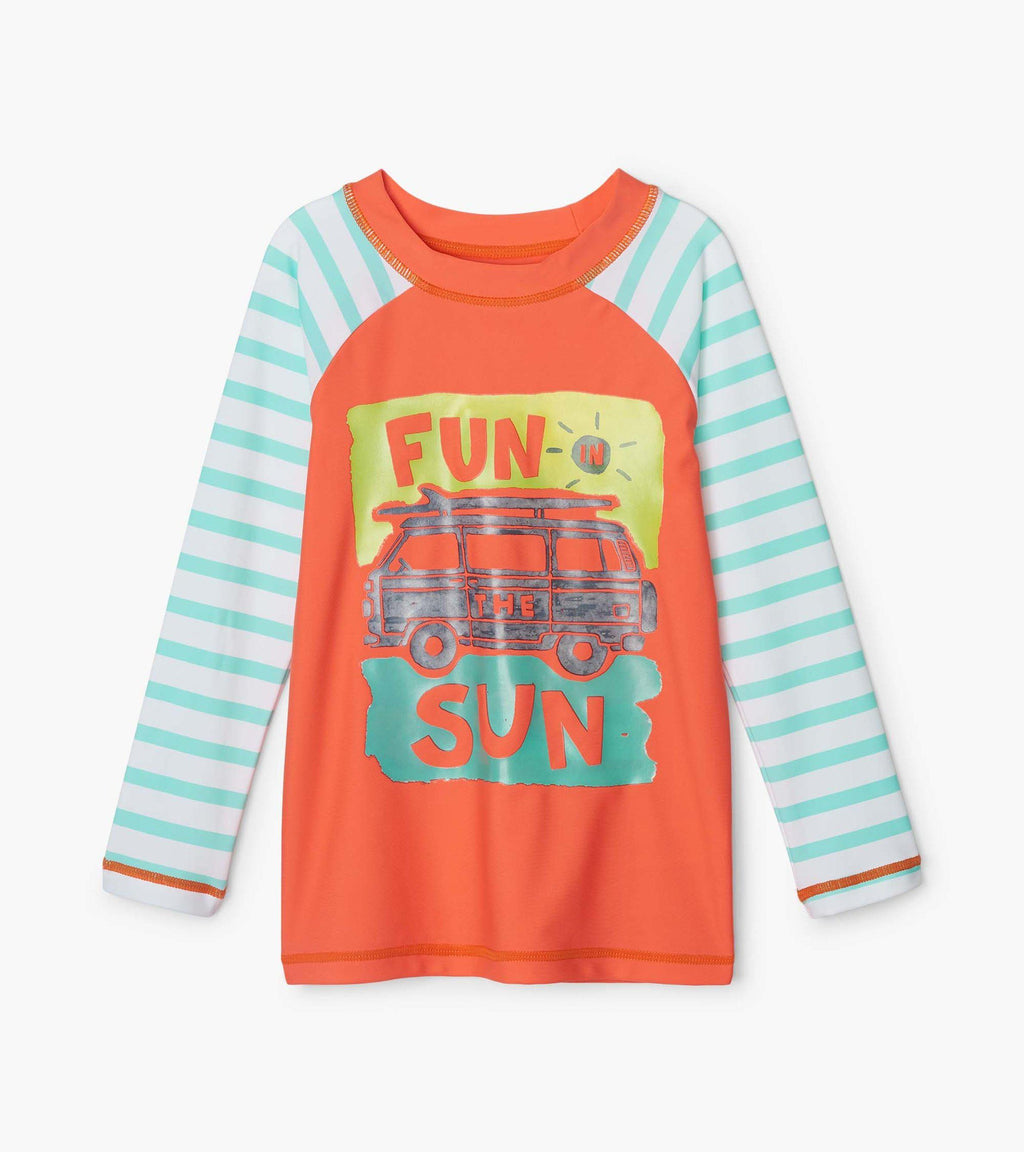 Hatley Rashguard - Long-Sleeve - Fun In The Sun