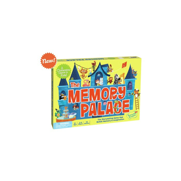 Peaceable Kingdom Press Board Game - Memory Palace