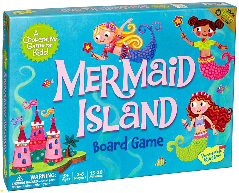 Peaceable Kingdom Press Board Game - Mermaid Island