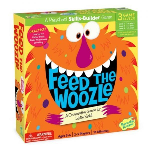 Peaceable Kingdom Press - Feed the Woozle Board Game